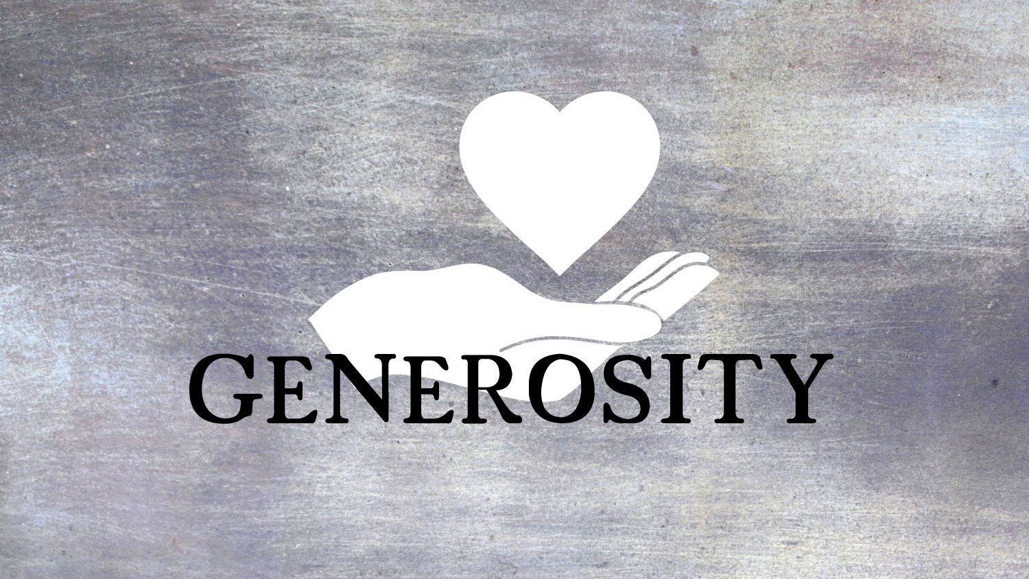 The Joy of Living Generously